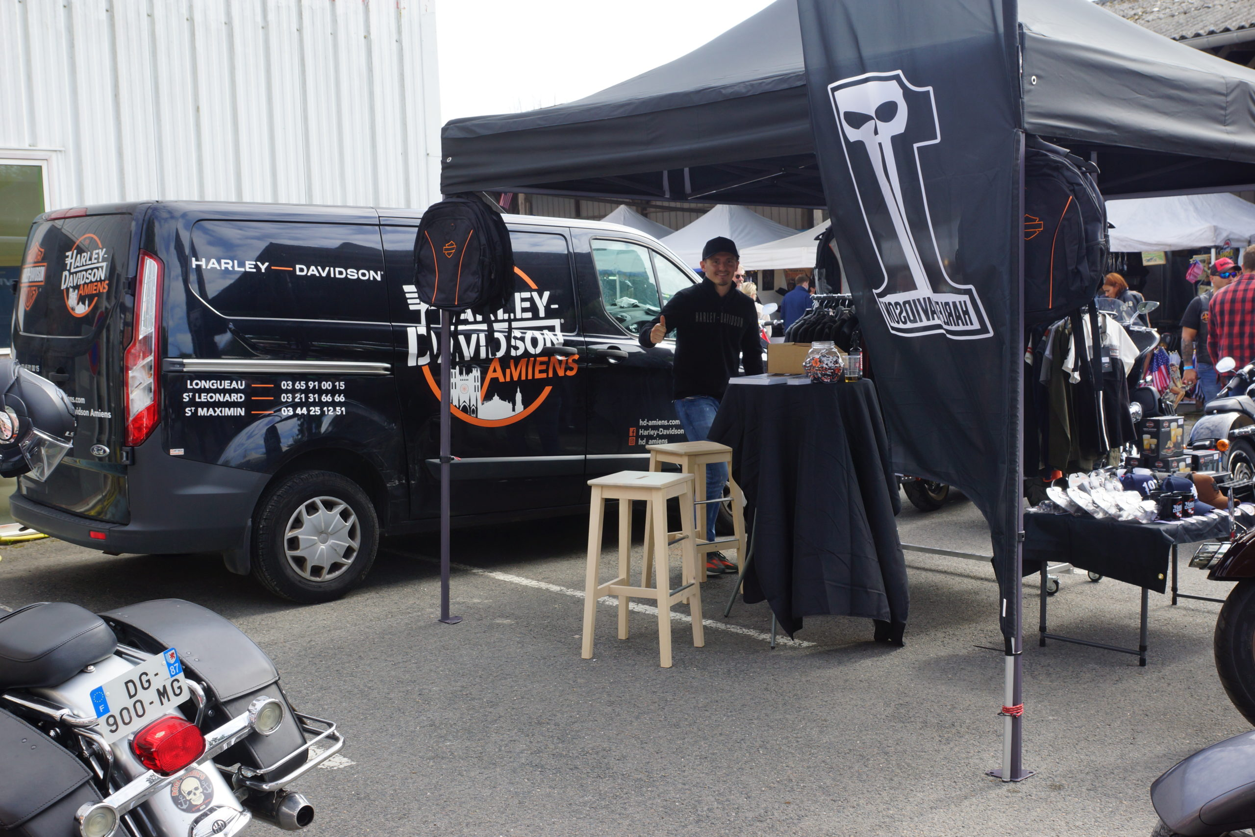Stand Harley d'Amiens Longueau